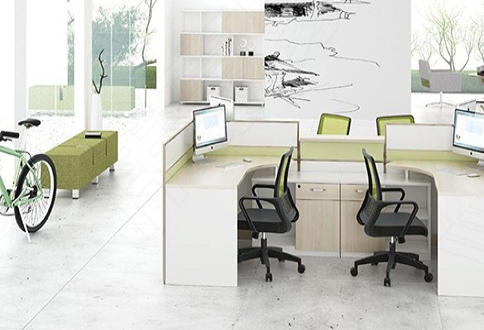 2.8米职员桌